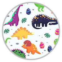 Masque Enfant Dinosaures
