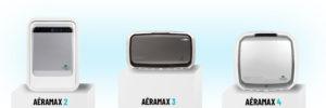 Présentation de trois purificateurs d'air Aeramax